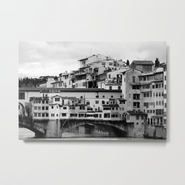 Ponte Vecchio (2) Metal Print