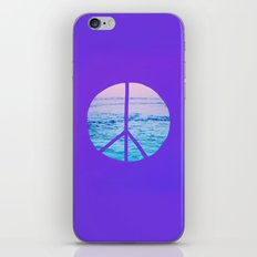 Waves & Peace x Violet iPhone & iPod Skin
