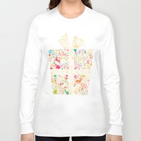gift card Long Sleeve T-shirts featuring Christmas Gift 01 by BlueLela