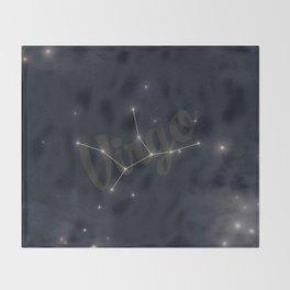 Virgo Constellation - Zodiac Throw Blanket