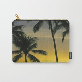 "Sunsets ""Haleiwa Palms"" Carry-All Pouch"