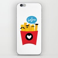 fries iPhone & iPod Skins featuring French Fries by Reg Silva / Wedgienet.net
