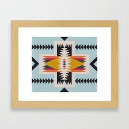 hammock nap Framed Art Print
