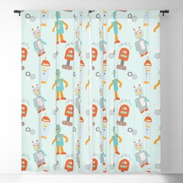 Mr. Roboto Blackout Curtain