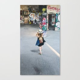 Abandoned Lisbon Canvas Print