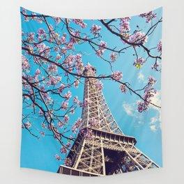 Springtime in Paris Wall Tapestry