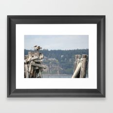 Keep it Together Framed Art Print