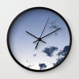 Indigo Summer Wall Clock