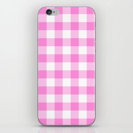 Pink Buffalo Check - more colors iPhone Skin