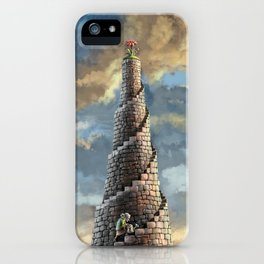 TOWER OF MABEL iPhone Case