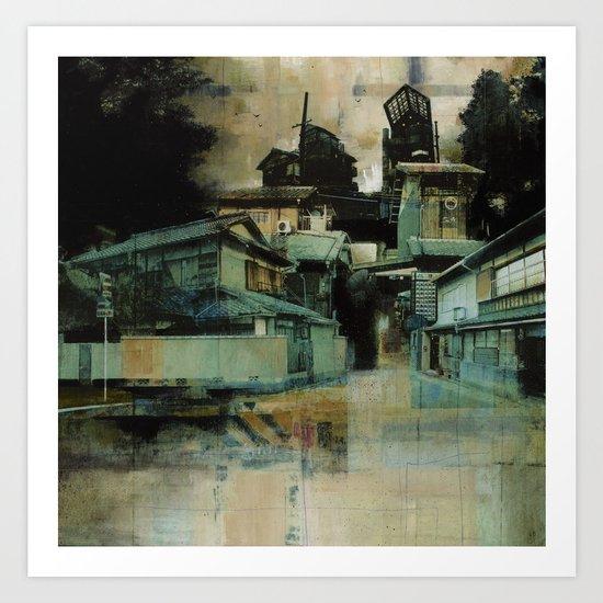 Groves of Arashiyama Art Print