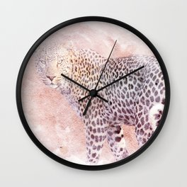 Daylight Jaguar Wall Clock