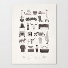 The Desert Rocker Kit Canvas Print