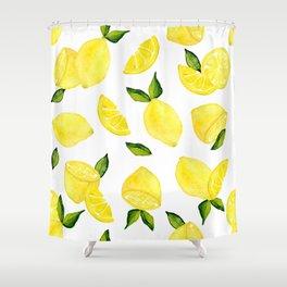 Make Lemonade! Shower Curtain