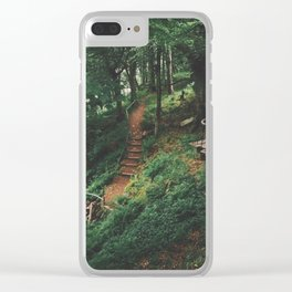 Fairytale Forest, Isle Of Mull Clear iPhone Case