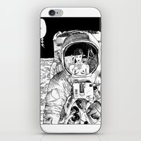 apollonia iPhone & iPod Skins featuring asc 333 - La rencontre rapprochée ( The close encounter) by From Apollonia with Love