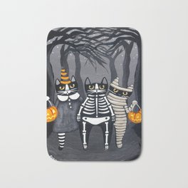 The Trick or Treat Gang Bath Mat