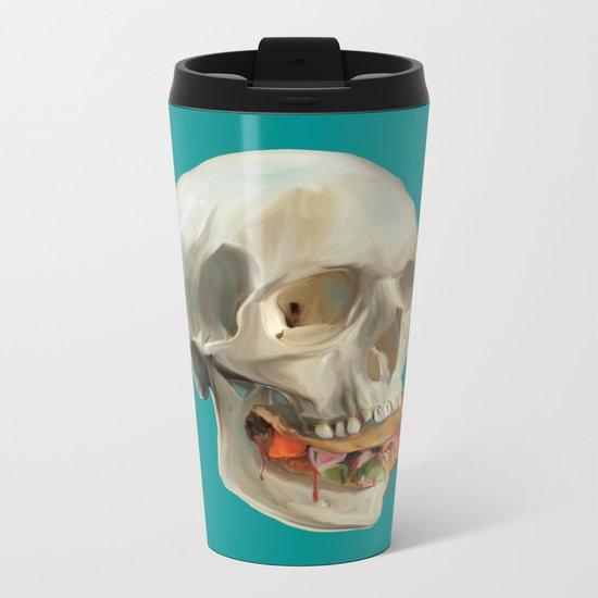Death By Taco Metal Travel Mug