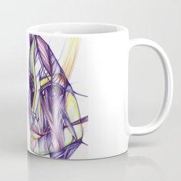 Surreal girl illustration Coffee Mug