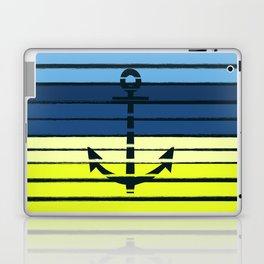 Anchor - beach theme summer tropical nautical home decor dorm decor beach life surfing boating art Laptop & iPad Skin