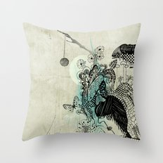 Play with me Throw Pillow