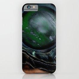 Green Globe iPhone Case