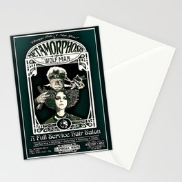 Metamorphosis by The Wolf Man: A Full Service Hair Salon (Vintage) Stationery Cards
