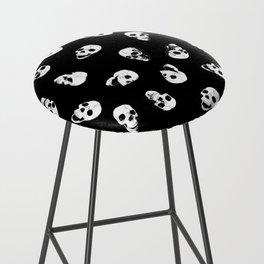 Gossiping Skulls Bar Stool