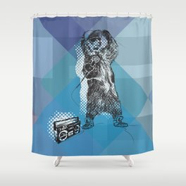 O&P: MC Grizzly Pt.2 - So Grizzly Right Now! Shower Curtain