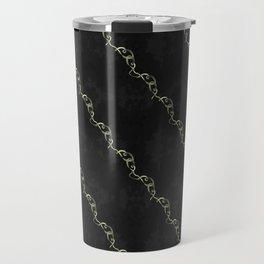 Gold Ribbon Travel Mug