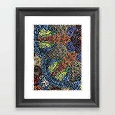 Psychedelic Botanical 6 Framed Art Print