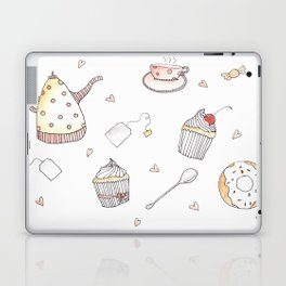 Tea party Laptop & iPad Skin