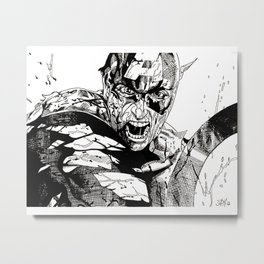 Capt America fan art Metal Print