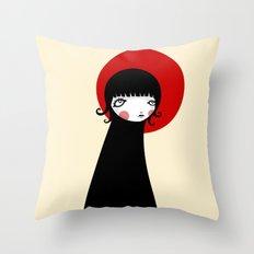 Redd Moon Throw Pillow