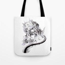 Poor Unfortunate Soul Inktober Drawing Tote Bag