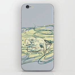 Soul of a Chinese Water Deer iPhone Skin