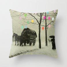 Christmas Day Throw Pillow