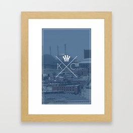 kansasfuckingcity 5 Framed Art Print