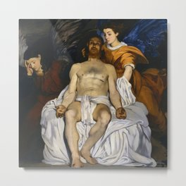 """Édouard Manet """"The Dead Christ with Angels"""" Metal Print"""