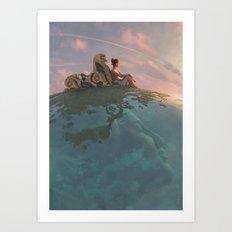 Warmer Times Art Print