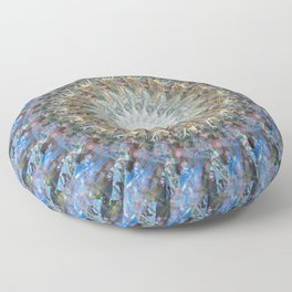Eternity and the Spiral Floor Pillow