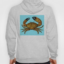 Stone Rock'd Stone Crab By Sharon Cummings Hoody
