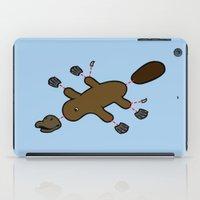 platypus iPad Cases featuring Platypus Diagram by Jez Kemp