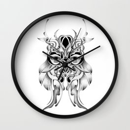 GRAPHITE OWL Wall Clock