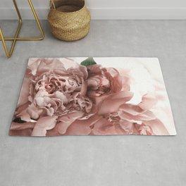 Blush Pink Floral Rug