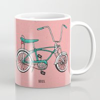 boss Mugs featuring Boss. by shoooes