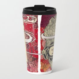 Befriend Your Demons  Metal Travel Mug