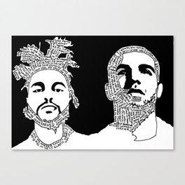 Weekend Drake Canvas Print