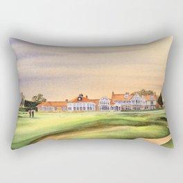Muirfield Golf Course 18th Green Rectangular Pillow
