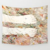 perfume Wall Tapestries featuring Perfume #3 by Dao Linh